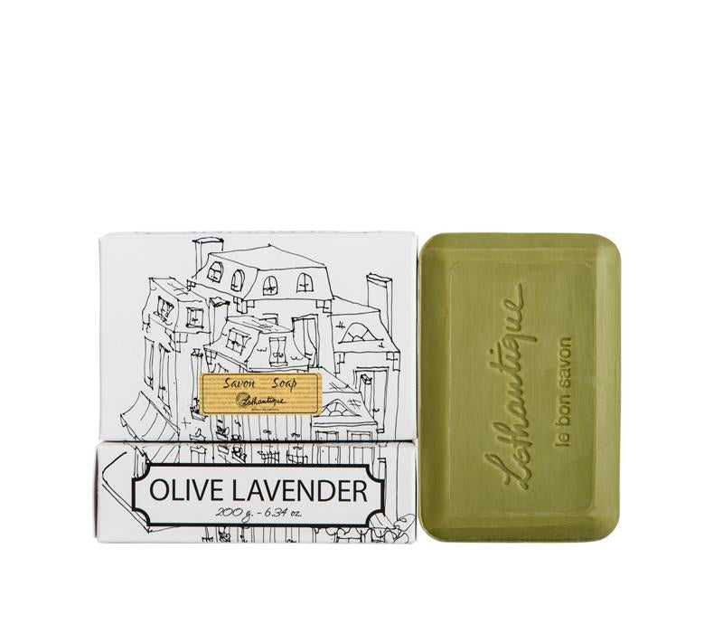 Lothantique 200g Bar Soap Olive Lavender - Lothantique USA