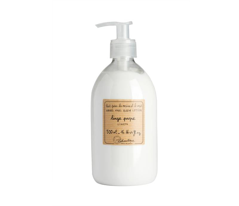 Lothantique 500mL Hand & Body Lotion Linen
