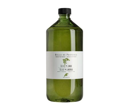 Belle de Provence Olive & Lavender 1L Liquid Soap - NEW LOOK!