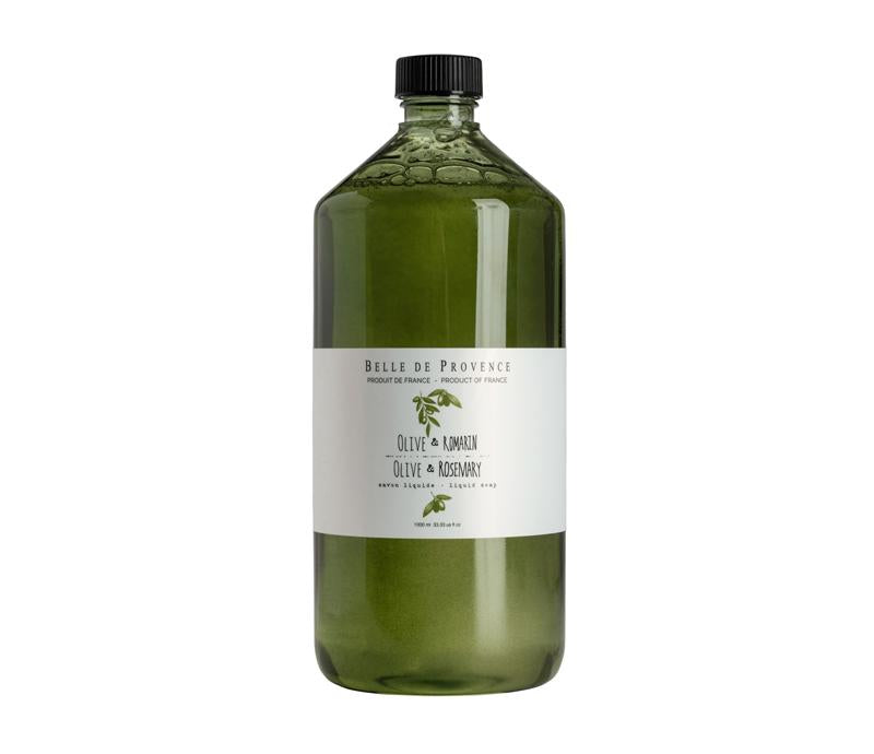 Belle de Provence Olive & Rosemary 1L Liquid Soap - Lothantique USA