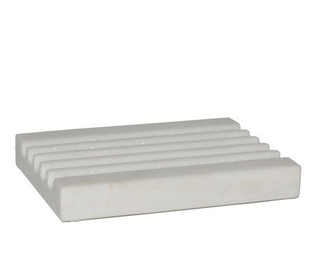 Tadé White Marble Soap Dish - Lothantique USA