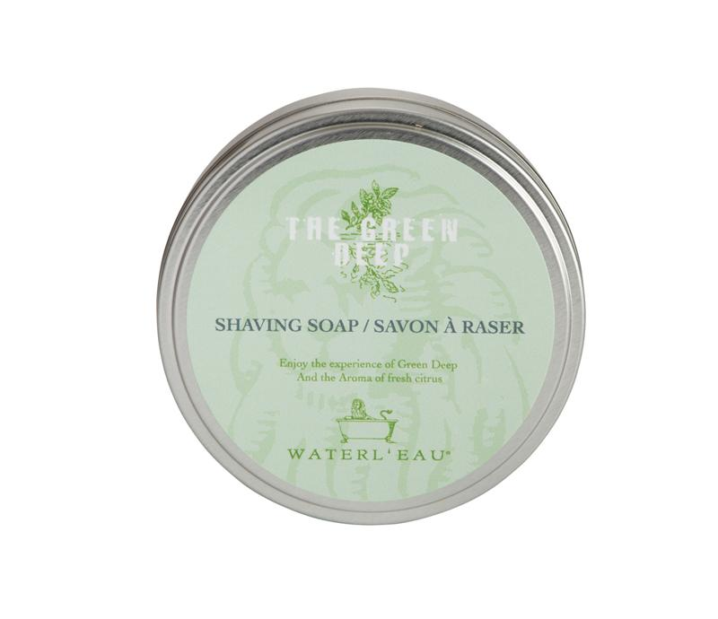 Waterl'eau The Green Deep Shaving Soap