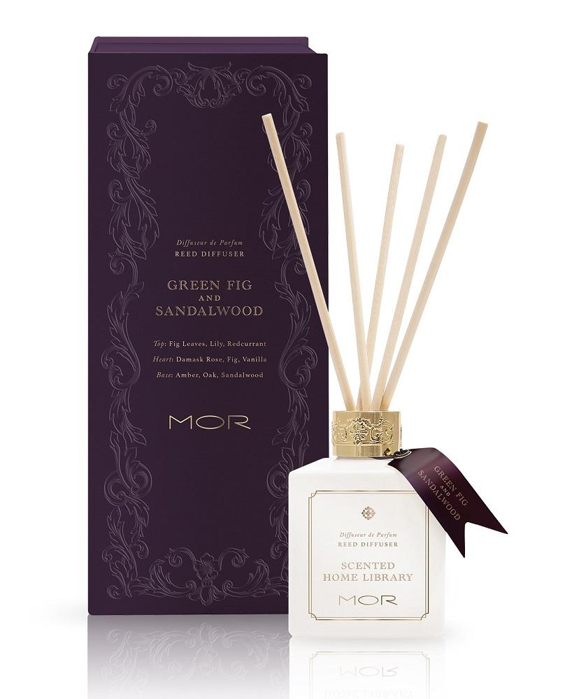 MOR Green Fig & Sandalwood Reed Diffuser - Lothantique USA