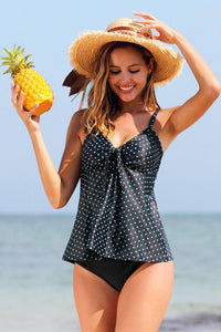 Fashion World V-Neck Tankini with Shorts Bottom