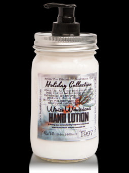 Bean Stock Inc. Mason Holiday Hand Lotion