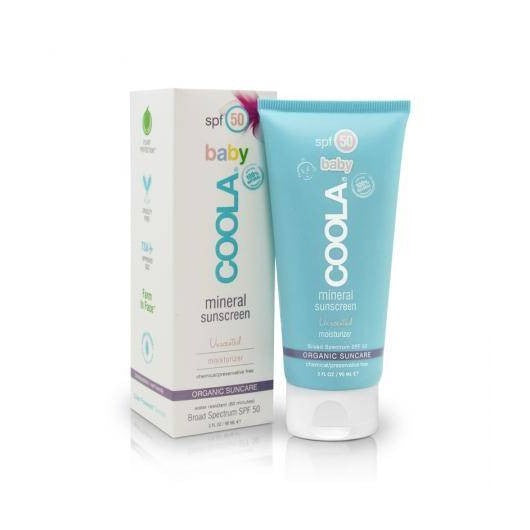 COOLA Baby Organic SPF50 unscented 3 oz