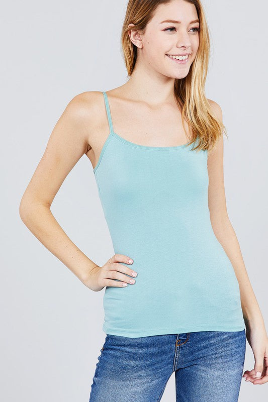 Active Basic Shelf Tank Cami