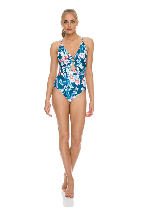 Azura Australia Fresco Multi Strap One Piece Swimsuit With Underwire DD/E