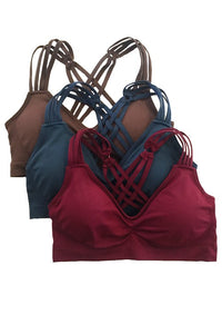 Anemone Strappy Cross Back