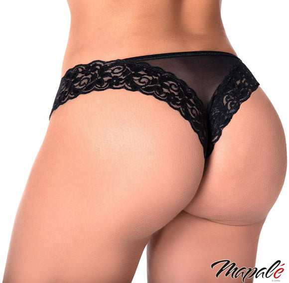 Mapale Lace and Mesh Panty