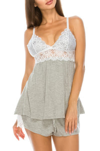 Youmita Lace Sleep Set