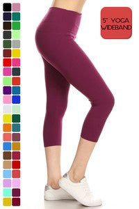 Leggings Depot One Size Capri Pants