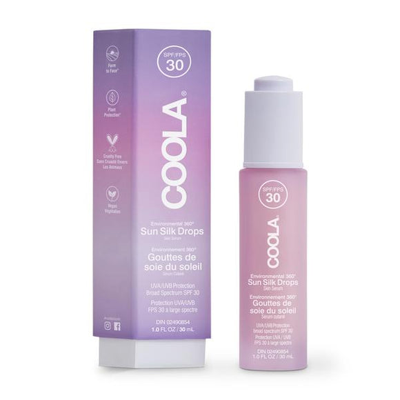 COOLA Classic SPF 30 Full Spectrum Sun Silk Drops 30ml
