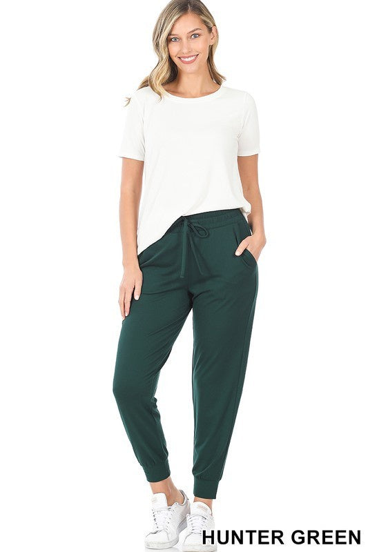Zenana Top Jogger Set Pants