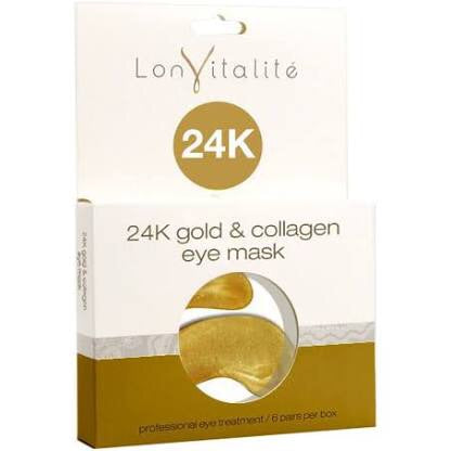 24k gold eye mask