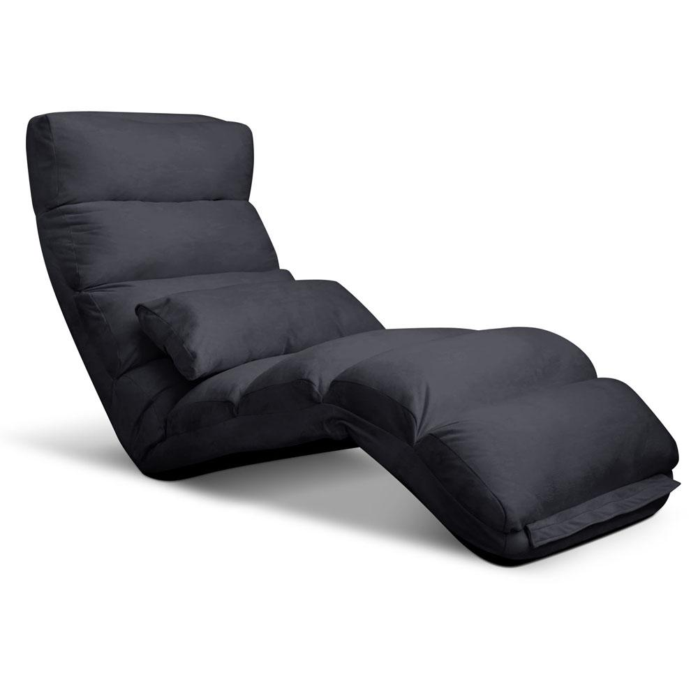 Artiss Adjustable Lounge Sofa Chair - Charcoal - Pizzazz Hub