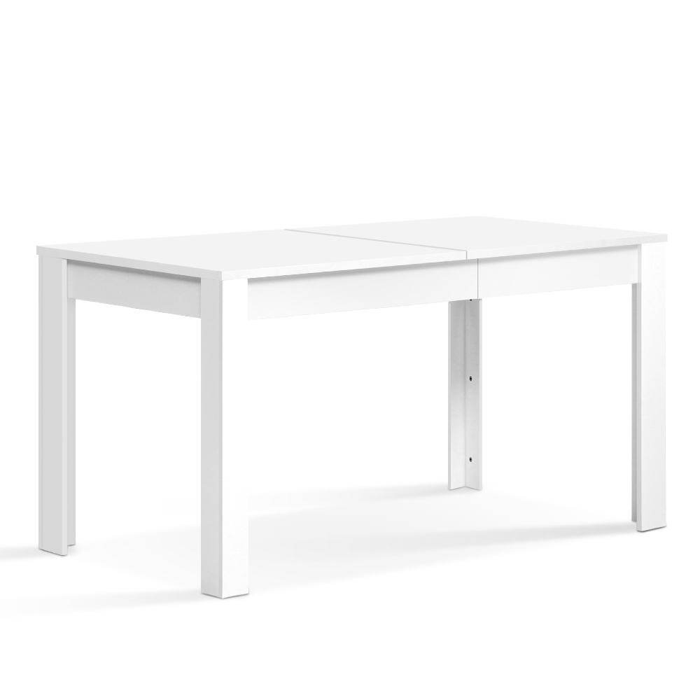 Artiss Dining Table 4 Seater White 120cm - Pizzazz Hub