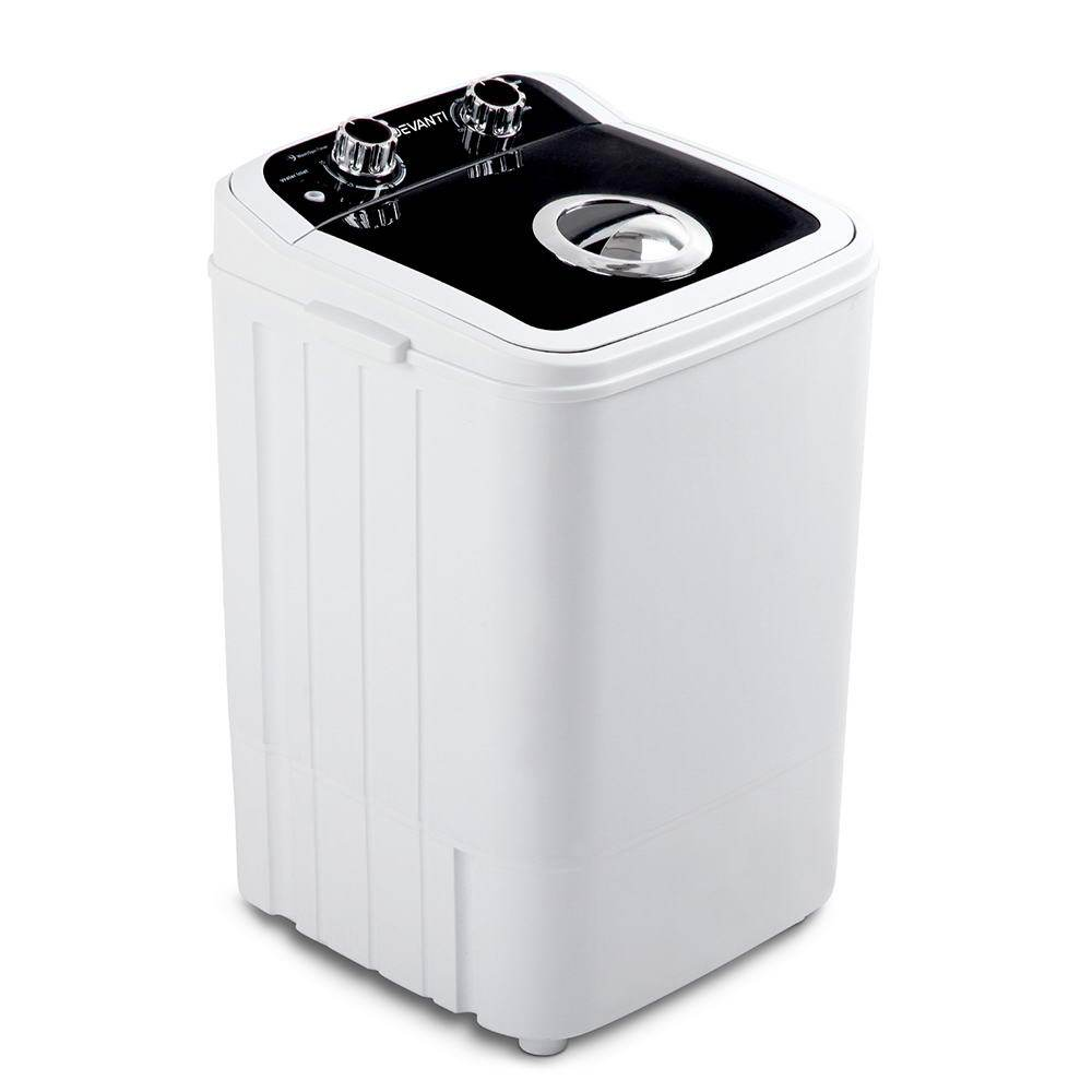 Devanti 4.6KG Mini Portable Washing Machine - Black - Pizzazz Hub