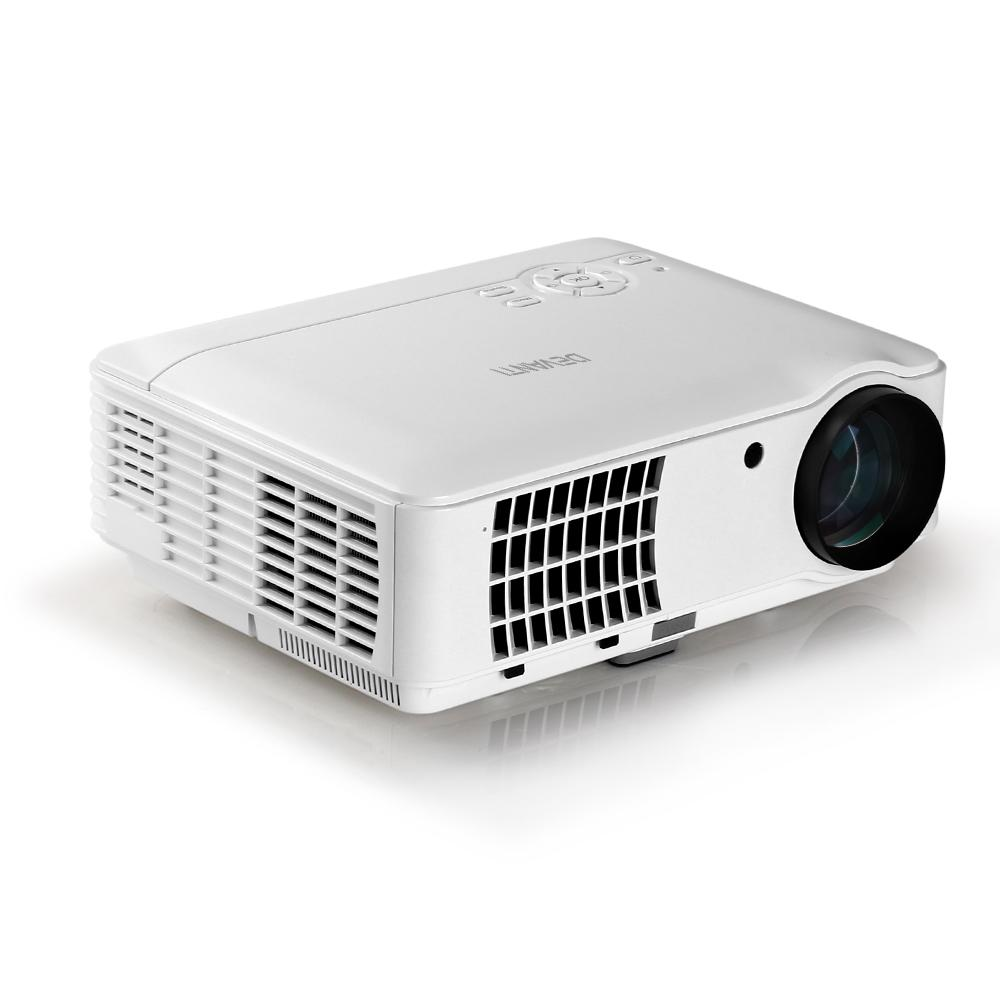 Devanti HD 1080P Video Projector 4000 Lumen LED Home Theatre - Pizzazz Hub