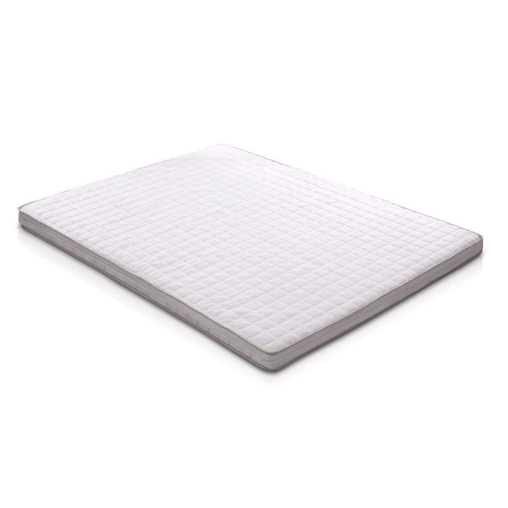 Giselle Bedding Memory Foam Mattress Topper Bed Underlay Cover Queen 7cm - Pizzazz Hub
