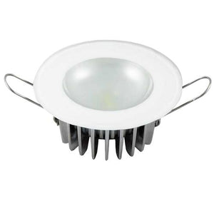 Lumitec Mirage - Flush Mount Down Light - Glass Finish/No Bezel - 2-Color White/Red Dimming