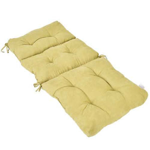 "44"" Indoor Outdoor High Back Tufted Pillow Chair Cushion"