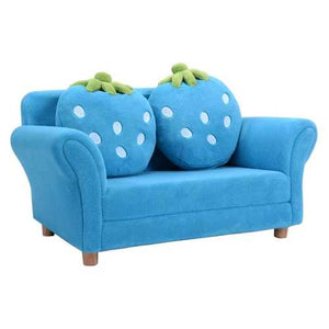BL/PI Kids Strawberry Armrest Chair Sofa