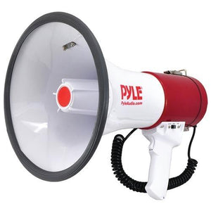 Pyle Pro Bluetooth Megaphone Bullhorn With Siren (pack of 1 Ea)