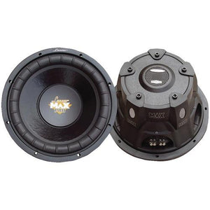 "Lanzar Maxpro Series Small 4ohm Dual Subwoofer (10"", 1,200 Watts) (pack of 1 Ea)"
