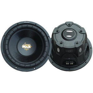 "Lanzar Maxpro Series Small 4ohm Dual Subwoofer (12"", 1,600 Watts) (pack of 1 Ea)"