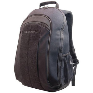 "Mobile Edge 17.3"" Eco-friendly Canvas Backpack (black) (pack of 1 Ea)"