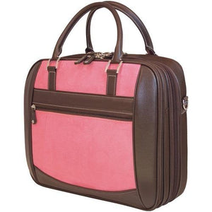 "Mobile Edge 16"" Pc And 17"" Macbook Scanfast Element Briefcase (pink Suede) (pack of 1 Ea)"