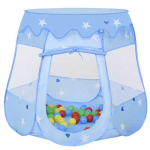 Kids Princess Play Tent Playhouse w/ 100 Ocean Balls