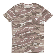 Short-sleeved camouflage t-shirt