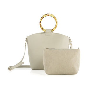 Purse - Dallas Top Handle, Ivory