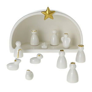 Christmas - Silent Night Manger Scene