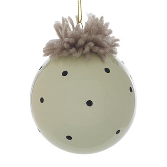Christmas - Pom Pom Top Ornament 3""