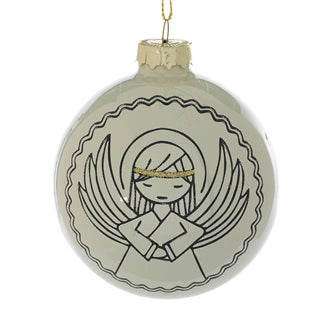 "Christmas - Holy Night 3"" Ornament - Angel"