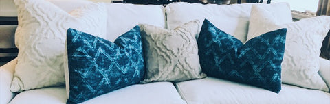 Indigo Blue Pillow