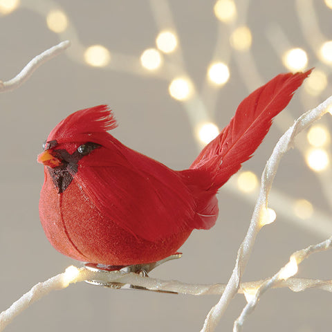 Christmas - Red cardinal ornament