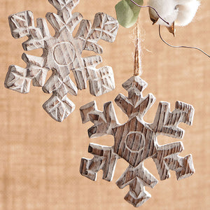 Christmas - Snowflake Ornament 5""