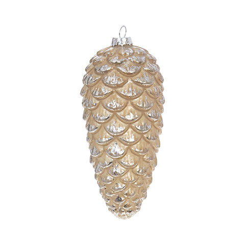 Christmas - Pinecone Ornament 6""