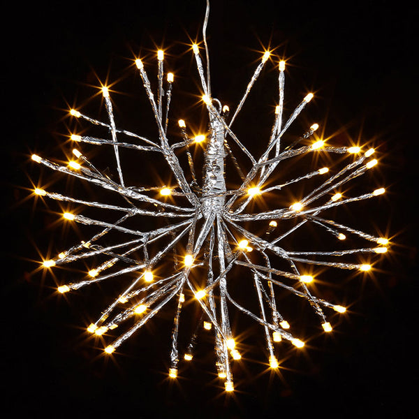 Christmans Light - Silver Starburst