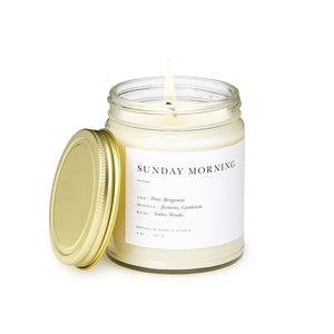 Sunday Morning Scented Candle