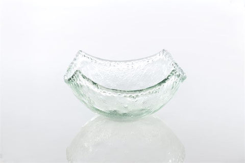 Recycled Glass - Rustic Square Bowl