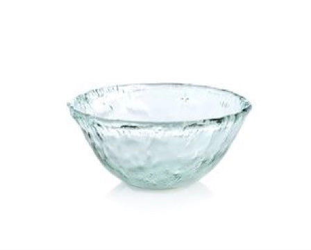 Recycled Glass - Round Serving Bowl