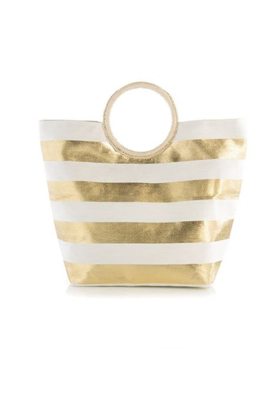 Purse - Marta Tote, Gold