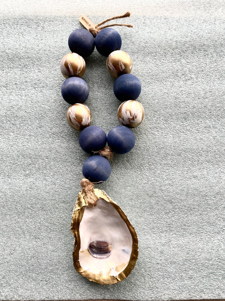 Welcome Beads - Small with Oyster Shell