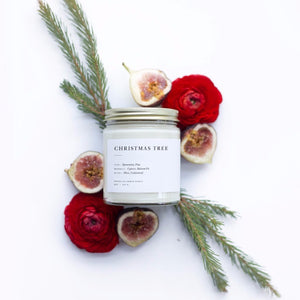 Candle - Christmas Tree Minimalist Candle by Brooklyn Candle Studio