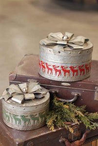 Christmas Boxes with Bowes